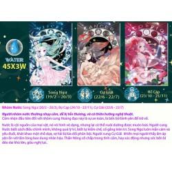 Mua 2 tặng 4 - Combo 2 hộp xếp hình 45 mảnh - Nhóm cung hoàng đạo Earth & Water