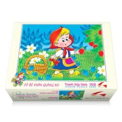 108-056 Cô bé quàng khăn đỏ