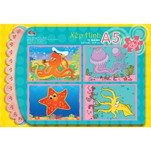A5-013 SINH VẬT BIỂN 2