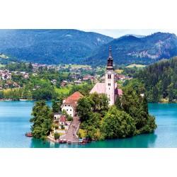 2035-017 NHÀ THỜ TRÊN ĐẢO BLED, SLOVENIA