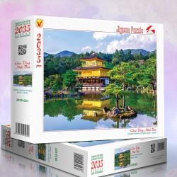 2035-021 Chùa Vàng Nhật Bản