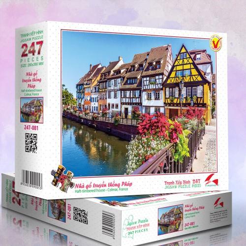 247-081 Nhà gỗ truyền thống Pháp