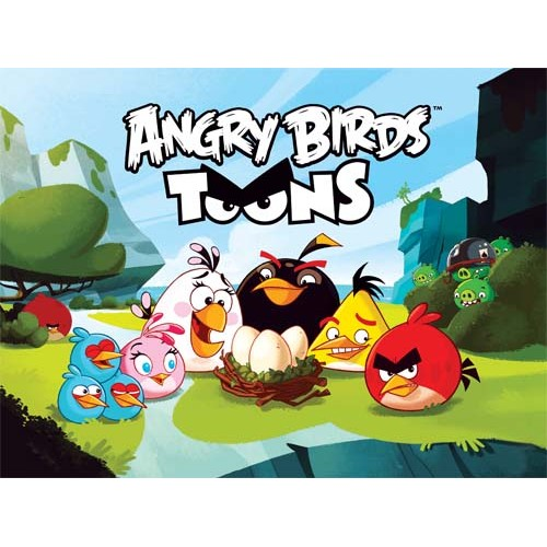 030-114 ANGRY BIRDS TOONS