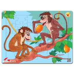 030-134 Hai chú khỉ