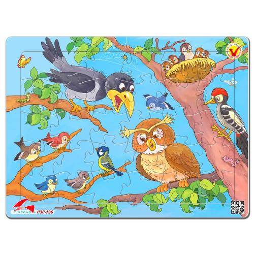 030-136 Bầy Chim
