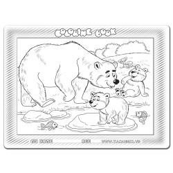 030-137 Gia đình gấu
