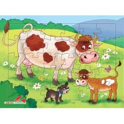 030-115 Bò mẹ và bò con