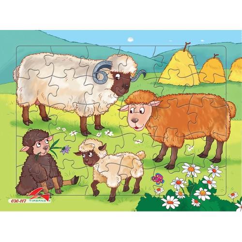 030-117 Đàn cừu