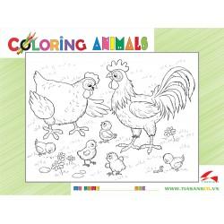 030-119 Đàn gà