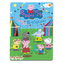 A3-106 Peppa Pig - Big Splash