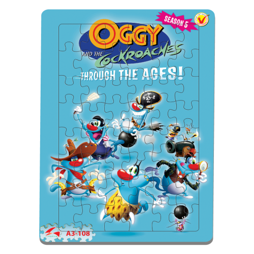 A3-108 Oggy Season 5
