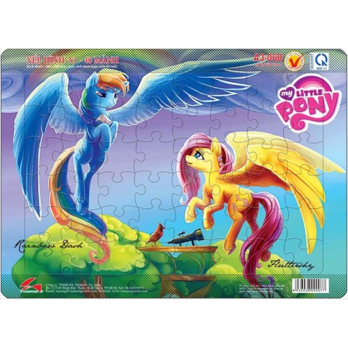 A3-068 Rainbow Dash and Fluttershy