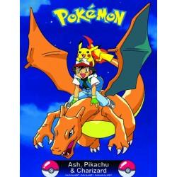 63-153 Ash,Pikachu & Chariza