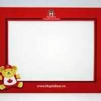 Khung hình giấy Maple Bear (15x20 cm)